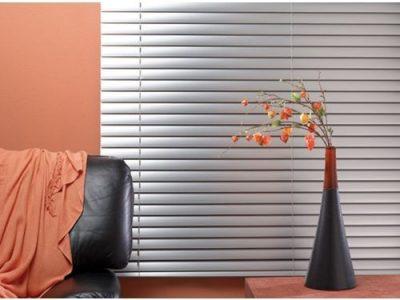 Aluminium Venetian Window Blinds – Silver – 2.5mm