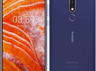 "Nokia 3.1 PLUS(6""18:9 HD,Andriod 8.1(Oreo),2GB/16GB ROM,CAMERA;13MP+5MP,SELFIE 8MP,3500mAh,4G LTE"