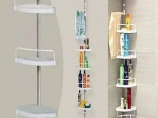 4 Tiers Shelf Toilet Bathroom Space Saver Storage Rack