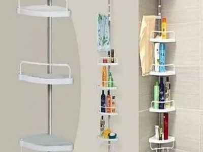 4 Tiers Shelf Toilet Bathroom Space Saver Storage Rack