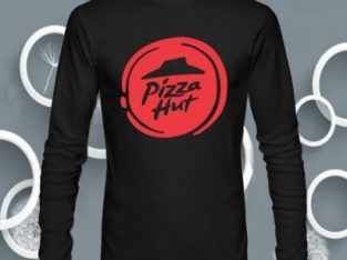 Men's Pizza Hut Long Sleeve T Shirts