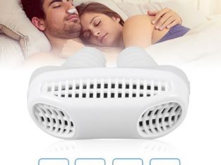 DM 2 In 1 Anti Snoring & Air Purifier Relieve Nasal Congestion Devices-White