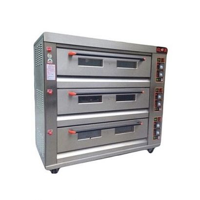 GAS OVEN, NINE TRAY, THREE LAYERS