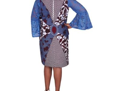 Elegance Ankara Shift Dress