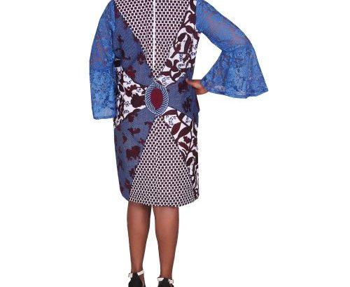 Elegance Ankara Shift Dress