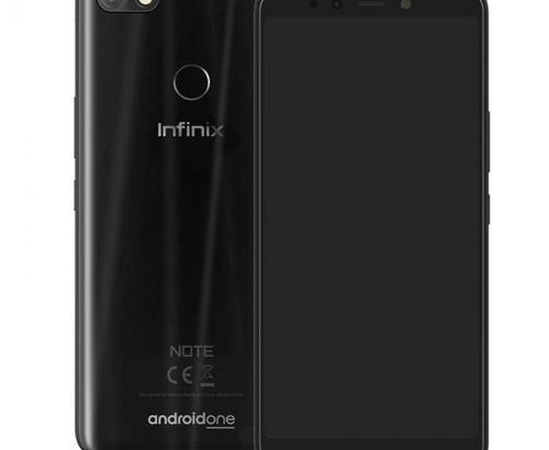 Infinix Note 5 (X604) 6.0-Inch FHD (3GB, 32GB ROM) Android One, (12MP + 16MP) Dual SIM 4G Smartphone