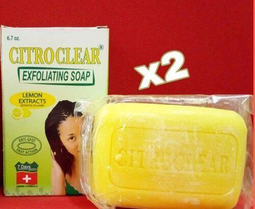 Citroclear Exfoliating Soap