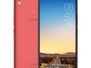 Tecno Tecno Spark2,(KA70), 6-Inch HD (2GB, 16GB ROM),Face Unlock & Fingerprint, Android 8.1Go Editio