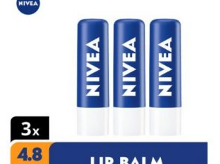 Nivea Original Lip Balm – 4.8g (Pack Of 3)
