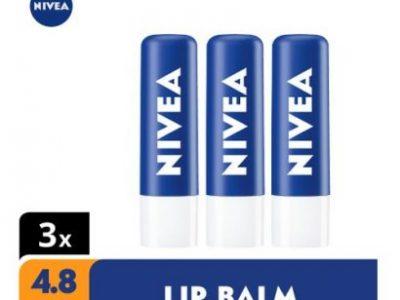 Nivea Original Lip Balm – 4.8g (Pack Of 3)