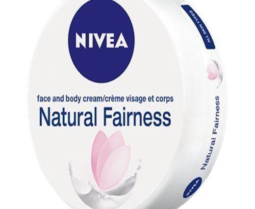 Nivea Natural Fairness Face And Body Cream-200ml