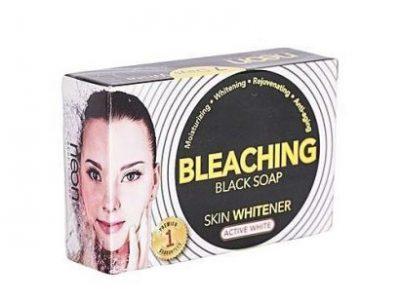 Neon Bleaching Skin Whitener Black Soap – Active White – 135gx6