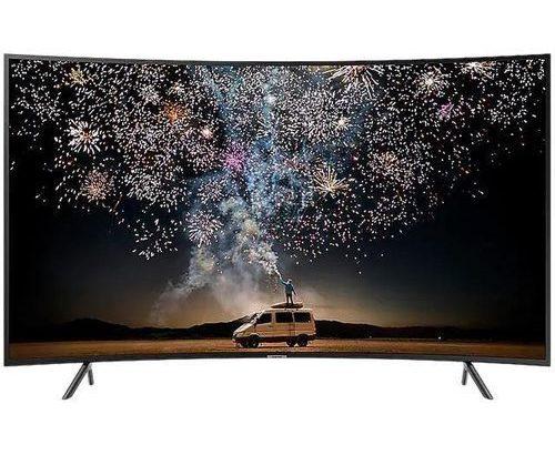 Polystar 32″ INCH SMART CURVED TV With Netflix- Black (1year Warranty)