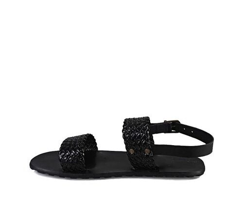 Pgolden Signatures Mens Black Weaves Sandals