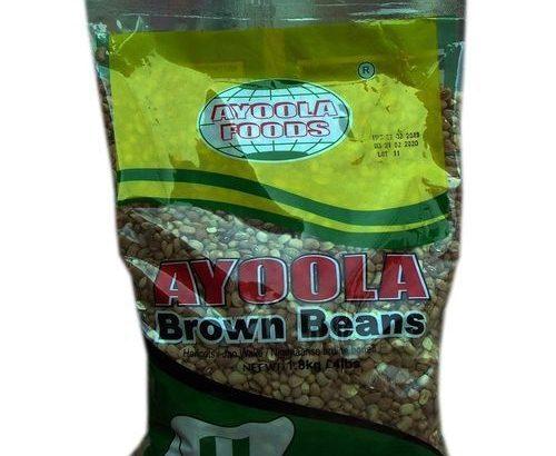 Ayoola Foods BROWN BEANS-1.8KG-5 PACKS