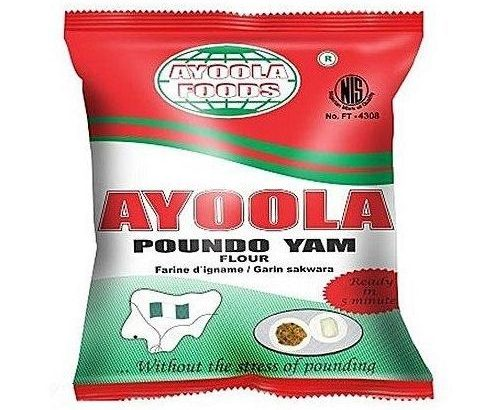 Ayoola Foods Ayoola Foods Poundo Yam Flour 0.9kg 10PCS HALF CARTON