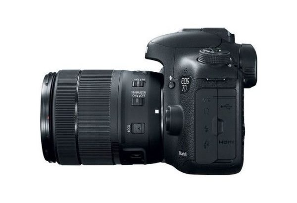 Canon Canon EOS 7D Mark II DSLR Camera With 18-135mm F/3.5-5.6 STM Lens