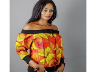 Varsity Jacket, Stylish Ankara Off Shoulder Jacket