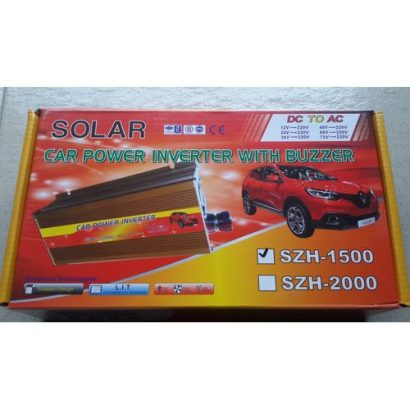 Solar Power Inverter 1500watts Without Charger