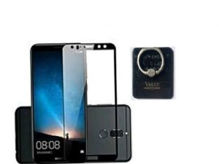 Tecno L9 Plus 5D Screen Protector+phone Ring