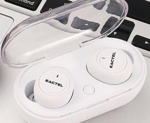 Eactel Eactel Bluetooth Earphones Wireless Earbuds Bluetooth 5.0 Headphones TWS Handsfree Sports Ear