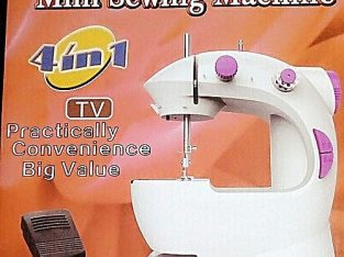 Portable Home Electric Mini Sewing Machine With Led Light
