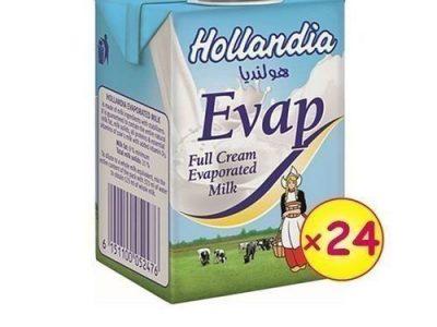 Hollandia MILK – Evaporated Full Cream Milk 190G X 24