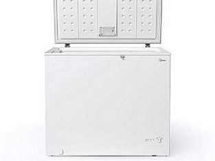 Midea 203L Superior Chest Freezer – Silver