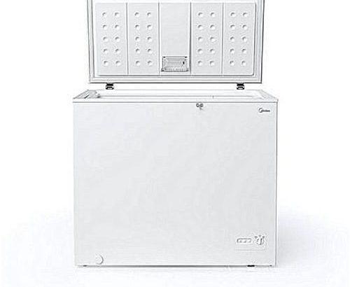 Midea 203L Superior Chest Freezer – Silver