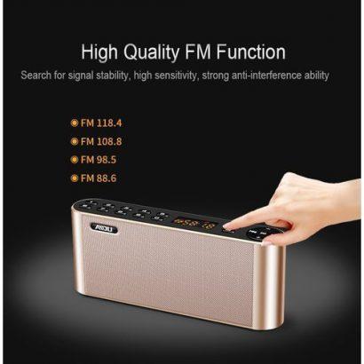 Bluetooth Speakers Portable Wireless Super Bass Dual HIFI Soundbar With Mic TF FM Radio USB