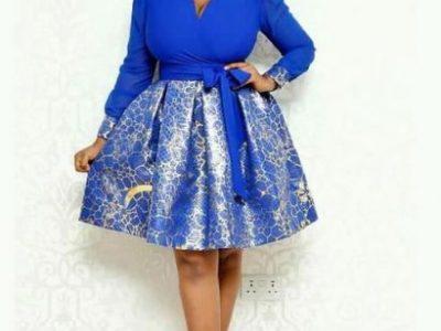 2020 Fashion Peplum Gown