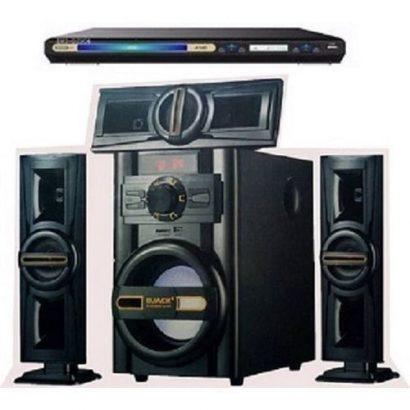 Djack Bluetooth Home Theatre System DJ-503 And LG DVD Player + Power Surge