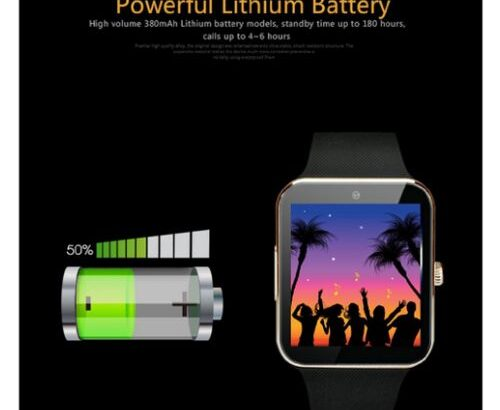 GT08 Blood Pressure Wrist Watch Bluetooth Fit Watch Silver
