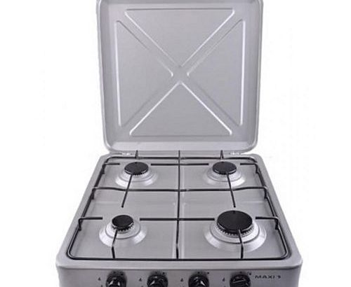 Maxi 400 4-Burner Manual Ignition Table Top Gas Cooker (Maxi By LG)