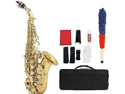 Premier Premier Curved Soprano Saxophone With Complete Accessories.