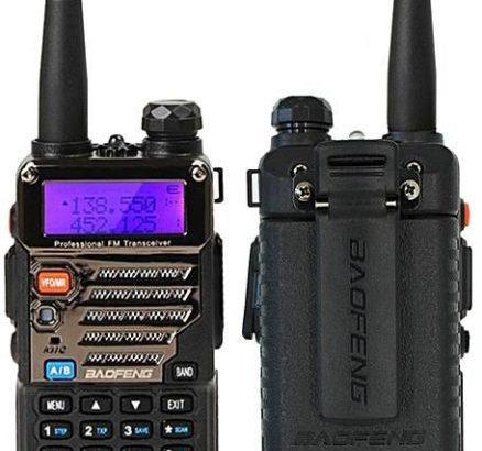 Baofeng HT Baofeng UV-5RE 5KM Walkie Talkie Dual Band Portable 2 Way Radio UV5RE (1pc)
