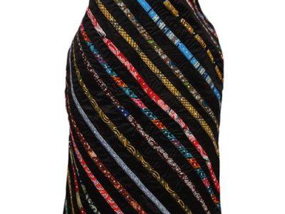 Classic Ladies Ankara Stoned Skirt