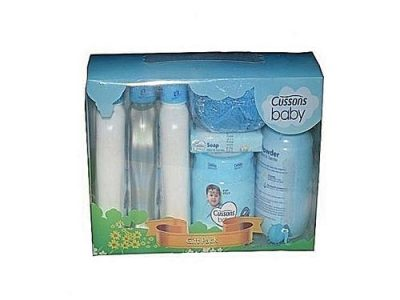 Cussons Baby Mild & Gentle Bathing Needs Gift Bag (7 PCS) + FREE Wipes