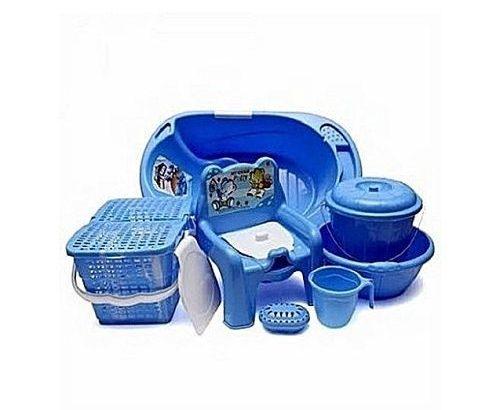 Universal 7-Pieces Baby Bath Set