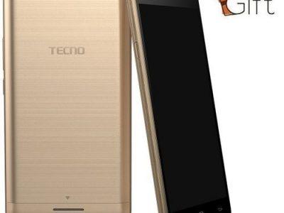 Tecno L8 Lite 5-Inch IPS (1GB, 16GB ROM) Android 6.0 Marshmallow, 8MP + 2MP 3G Smartphone + Free Rin