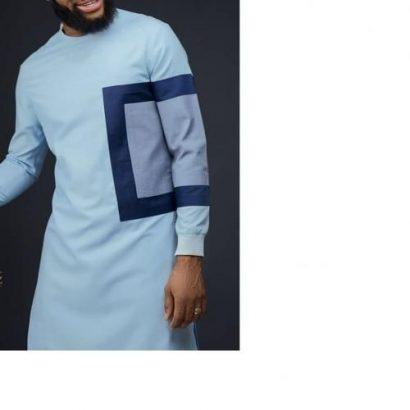 Men's Senator-Sky Blue With Unique Design