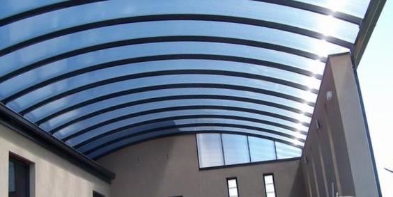 Danpalon Polycarbonate Carport/Shade