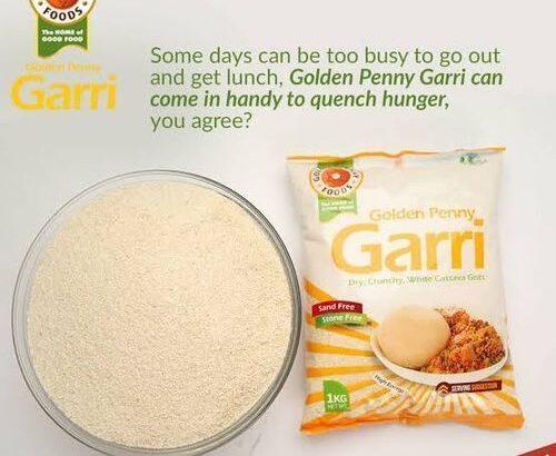 Golden Penny Garri – Cassava Flour – Cassava Flakes