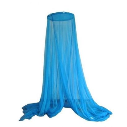 Hanging Treated Mosquito Net For Double Bed – Blue