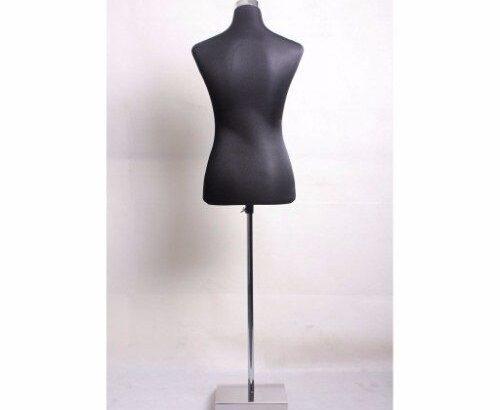 Half Body Plastic Female Mannequin