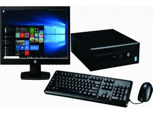 Hp ProDesk 600 SFF Business PC 3.3GHz Intel Core I3 8GB RAM 1TB HDD Win 10 Pro And MS Office Suite 2