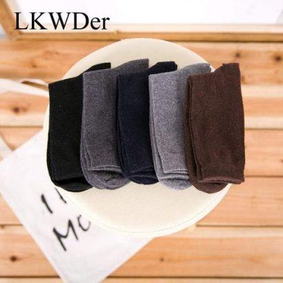 LKWDer 5 Pairs Men's Wool Socks Winter Thicken W