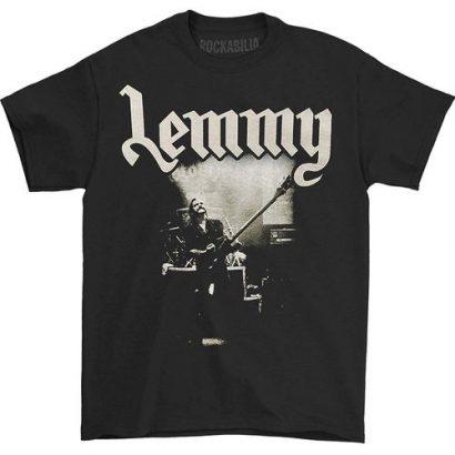 Men T Shirt Motorhead Lemmy Live To Win