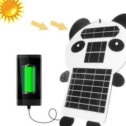 Portable 15W 5V Solar Power Bank