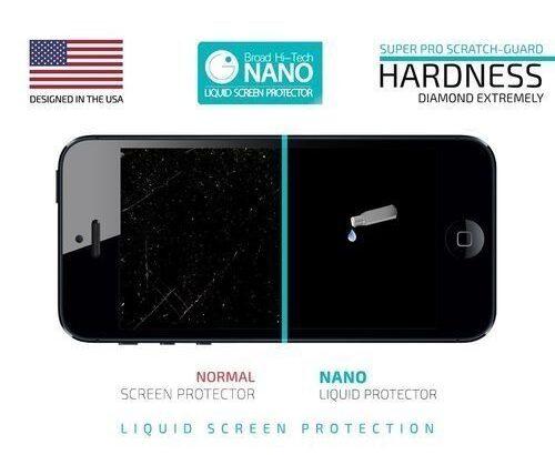 Nano Liquid Screen Protector Broad Hi-Tech 9H Screen Protector For Smartphones / Curved Screens / Ta